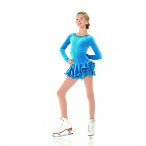 Tunique MONDOR 12914 velours bleue motifs enfant