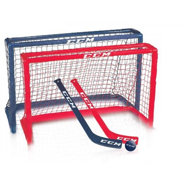 Paire mini hockey set CCM 32''+ crosses +balle