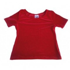 Tee-shirt MONDOR velours adulte