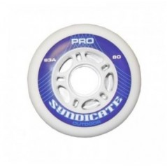 Roue SYNDICATE Pro 83A blanche