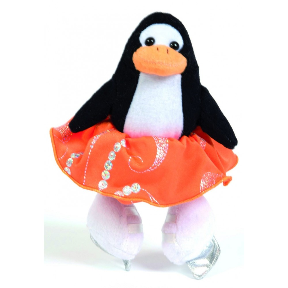 peluche animal patineur