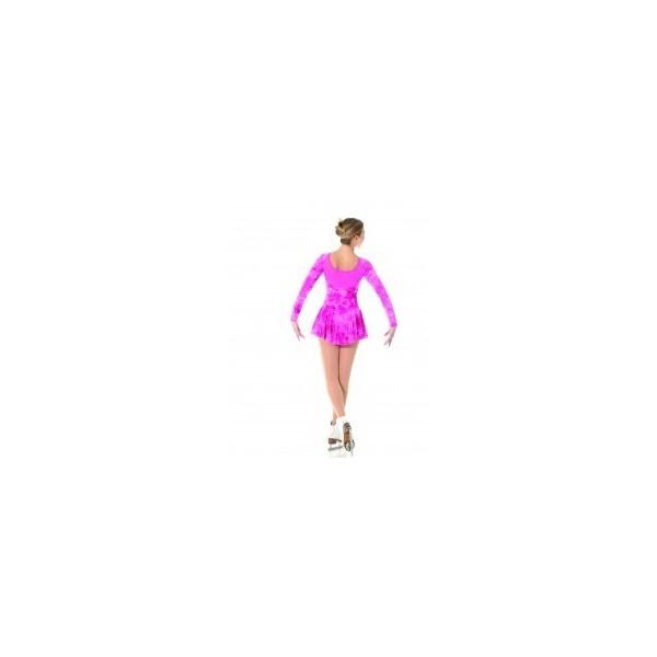 Tunique MONDOR velours rose motifs enfant