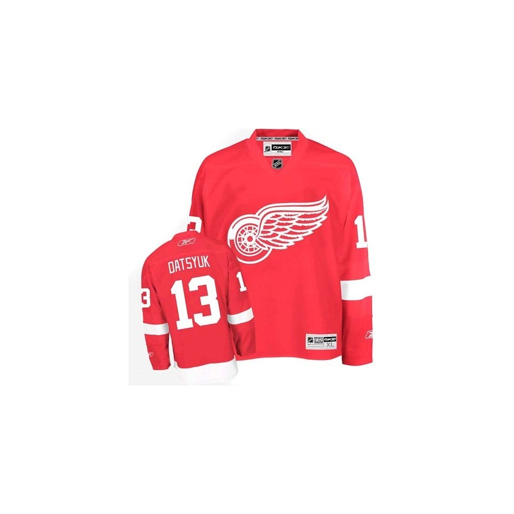 Maillot NHL REEBOK Detroit Datsyuk senior