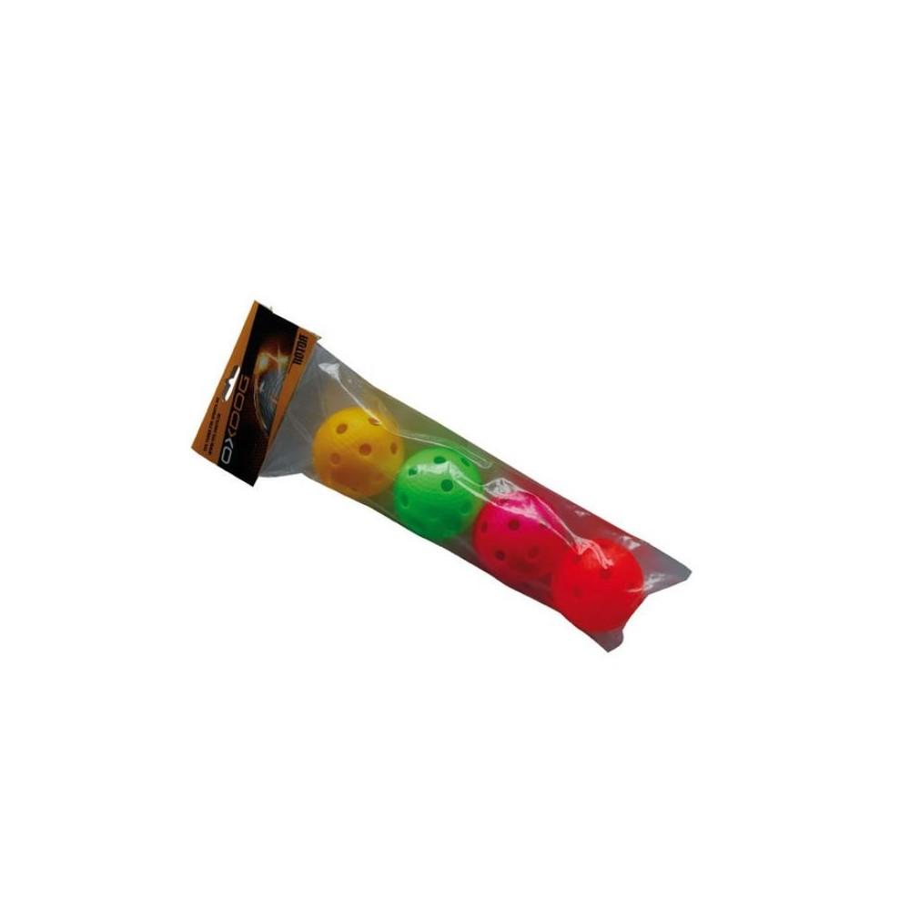 Pack de 4 balles OXDOG couleur