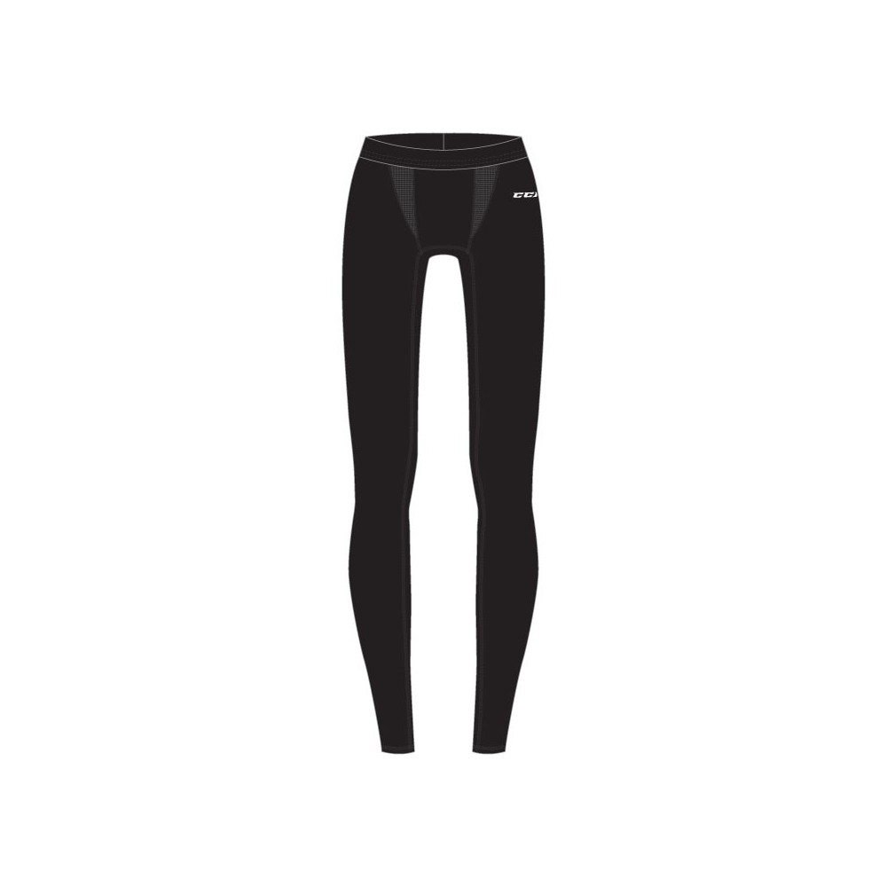 Pantalon CCM Performance Compression noir junior