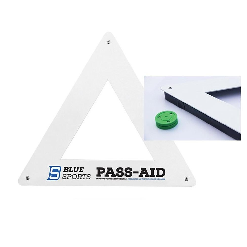 Triangle Pass Aid Blue Sports