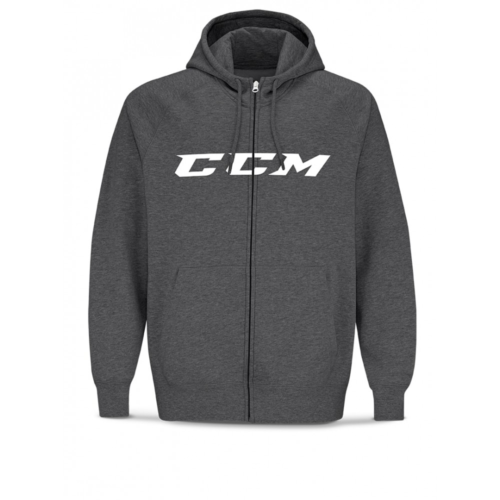Sweat capuche CCM Zip CVC Senior