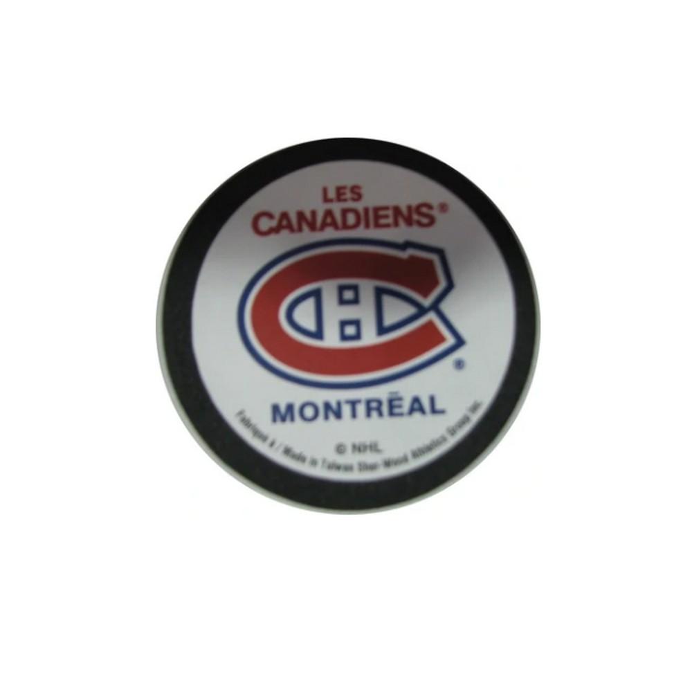 Palet Mousse avec logo NHL