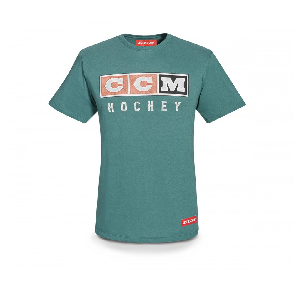 T-Shirt CCM Classic Tri...